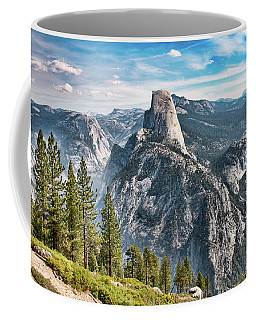 Half Dome From Glacier Point Coffee Mug