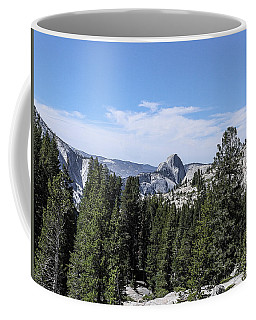 Half Dome From Olmstead Point Yosemite Valley Yosemite National Park Coffee Mug