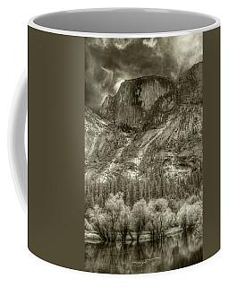 Half Dome Over Mirror Lake Coffee Mug