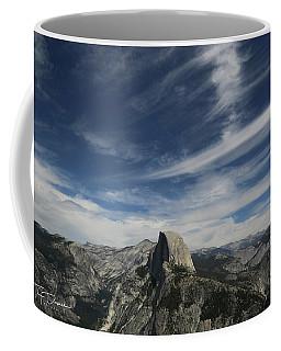 Half Dome Sky Coffee Mug