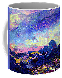 Half Dome Summer Sunrise Coffee Mug by Walter Fahmy