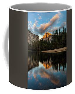 Half Dome Sunset Glow Coffee Mug