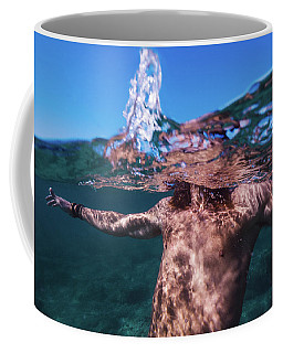 Half Man Coffee Mug
