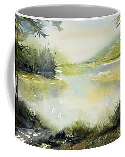 Half Moon Pond Coffee Mug