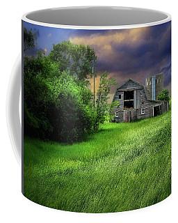 Half Silo Coffee Mug