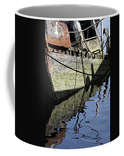 Half Sunk Boat Coffee Mug by Bob Slitzan