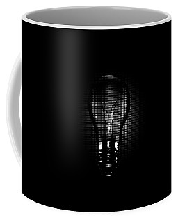 Halftone Lighbulb Coffee Mug