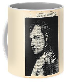 halftone Napoleon  Coffee Mug