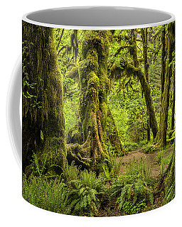 Hall Of Mosses - Olympic National Park Coffee Mug