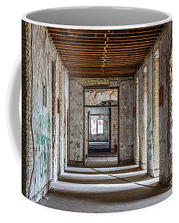 Hall To Patient Rooms Coffee Mug