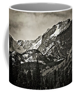 Hallet Peak, Rocky Mountain National Park Coffee Mug