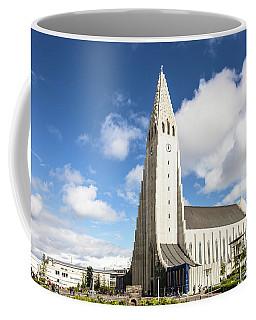 Hallgrimskirkja Church In Reykjavik Coffee Mug
