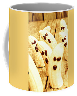 Halloween Banana Ghosts Coffee Mug
