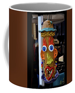 Coffee Mug featuring the photograph Halloween Bird Feeder 001 by George Bostian