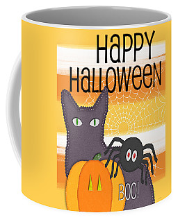 Halloween Friends- Art By Linda Woods Coffee Mug