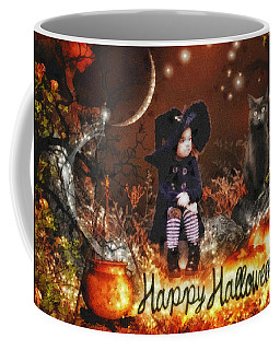 Halloween Girl Coffee Mug by Mo T