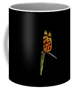 Coffee Mug featuring the photograph Halloween Pennant Dragonfly .png by Al Powell Photography USA