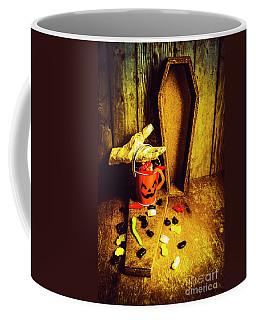 Halloween Trick Of Treats Background Coffee Mug