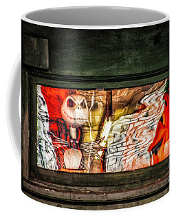 Halloween Window Display Coffee Mug