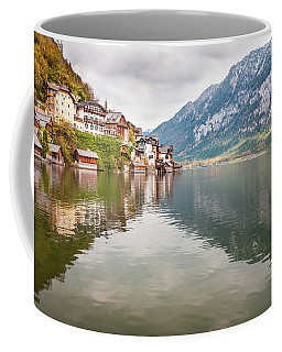 Coffee Mug featuring the photograph Hallstat by Geoff Smith