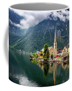 Hallstatt Across The Lake, Austria  Coffee Mug