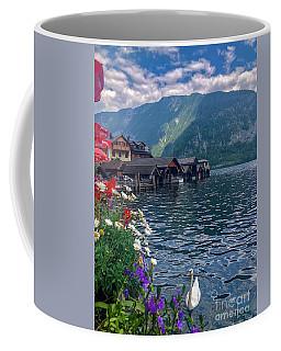 Hallstatt Swan Coffee Mug