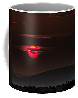 Haloed Sunset Coffee Mug