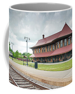 Hamlet North Carolina Depot Coffee Mug
