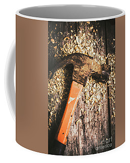 Hammer Details In Carpentry Coffee Mug