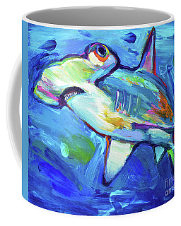 Hammerhead Coffee Mug by Robert Phelps