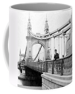 Hammersmith Bridge In London - England - C 1896 Coffee Mug by International  Images