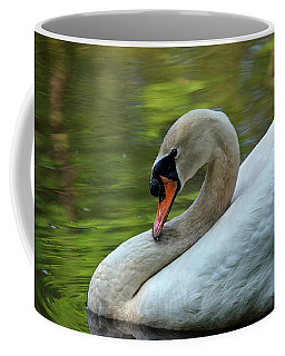 Hammy Swan Coffee Mug by Ronda Ryan