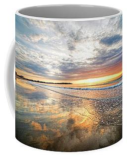 Hampton Beach Sunrise Hampton Beach State Park Hampton Nh Reflection Coffee Mug