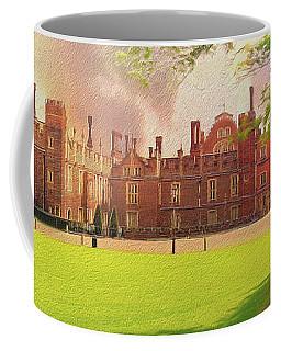 Coffee Mug featuring the photograph Hampton Court Palace Panorama by Leigh Kemp