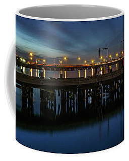 Coffee Mug featuring the photograph Hampton Roads Bridge Tunnel by Jerry Gammon