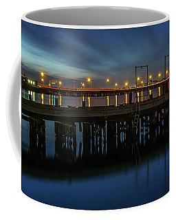 Hampton Roads Bridge Tunnel Coffee Mug by Jerry Gammon