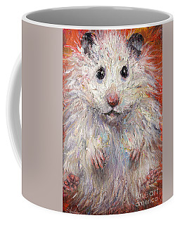 Hamster Painting  Coffee Mug