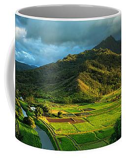 Hanalei Valley Taro Fields Coffee Mug