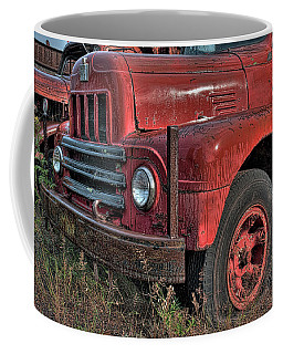 Hancock Hulk, Hancock Public Works Yard, Hancock, Michigan Coffee Mug