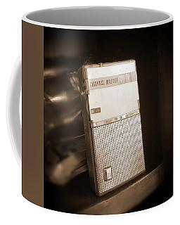 Hand Held Transistor Radio Coffee Mug by Mike McGlothlen