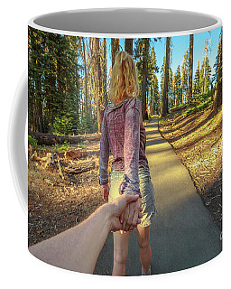 Hand In Hand Sequoia Hiking Coffee Mug