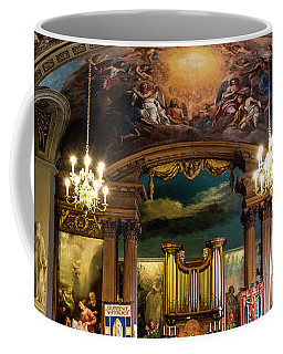 Handel's Organ Coffee Mug by Judi Saunders