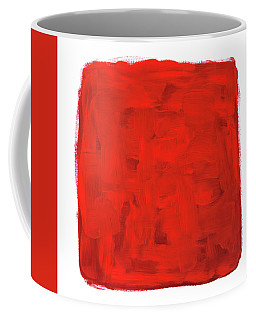 Handmade Vibrant Abstract Oil Painting Coffee Mug
