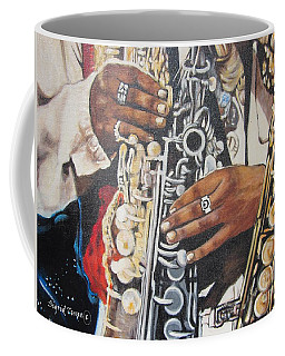 Blaa Kattproduksjoner        Hands Of Music - 2 Coffee Mug