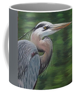 Handsome Heron Coffee Mug