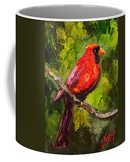 Handsome Red Coffee Mug by Carole Foret