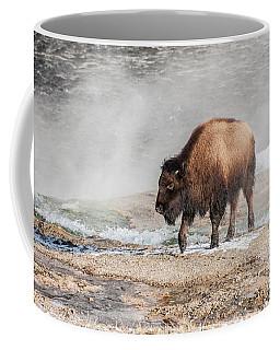 Handsome Young Bison Coffee Mug