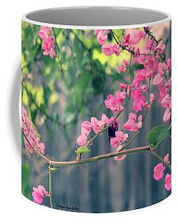 Coffee Mug featuring the photograph Hang On by Megan Dirsa-DuBois