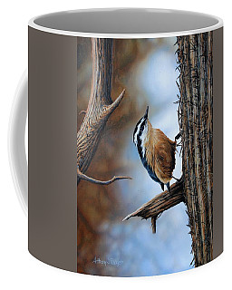 Hangin Out - Nuthatch Coffee Mug