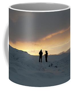 Coffee Mug featuring the photograph Hanging Around Iceland by Dubi Roman